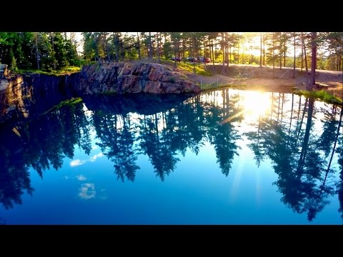 "Silvbergs gruva ""Above old silver mine"" Diy quadcopter X525 Dji Naza"