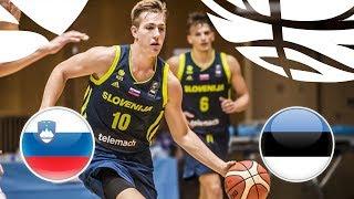 LIVE Slovenia v Estonia FIBA U20 European Championship Division B 2018