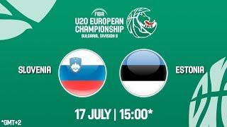 LIVE 🔴 - Slovenia v Estonia - FIBA U20 European Championship Division B 2018
