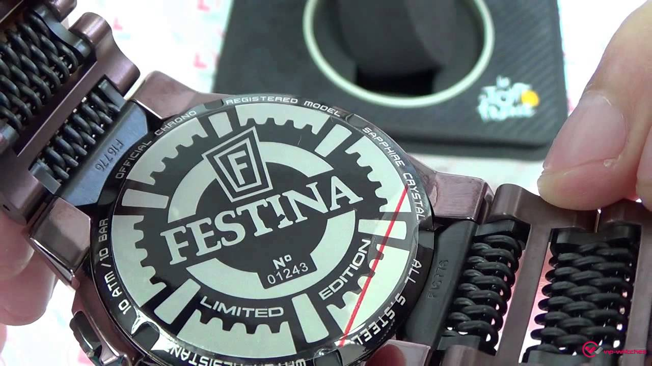 7cc5d33d6db Festina - Chrono Bike - F16776 1 - YouTube