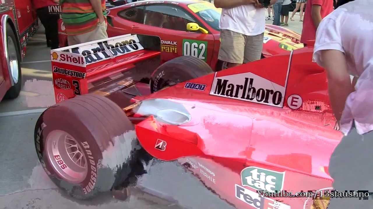 Michael Schumacher S Ferrari F1 2000 Car Youtube