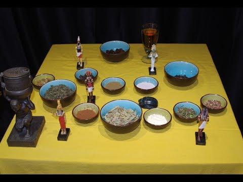 Le Kyphi, encens sacré des anciens égyptiens