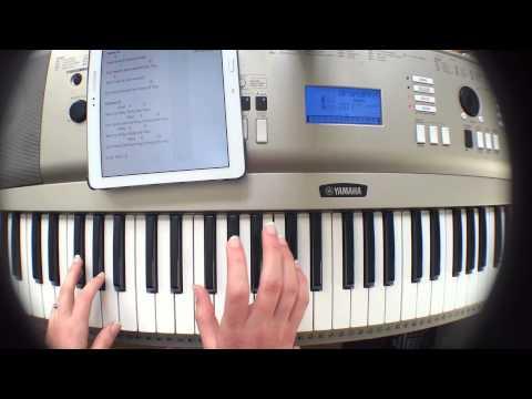 Jesus Culture - Burning Ones Piano Tutorial