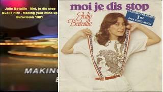 Julie Bataille - Moi, je dis stop (Bucks Fizz - Making your mind up - Eurovisión 1981)