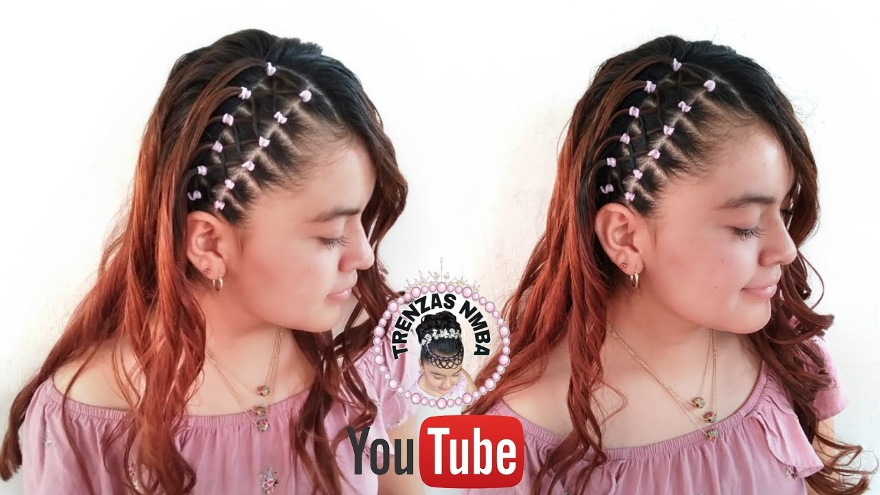 Peinados faciles con ligas para mujeres