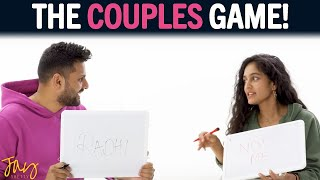HOW WELL Do You Know Your PARTNER? - Play THIS GAME! | Jay \u0026 Radhi Shetty