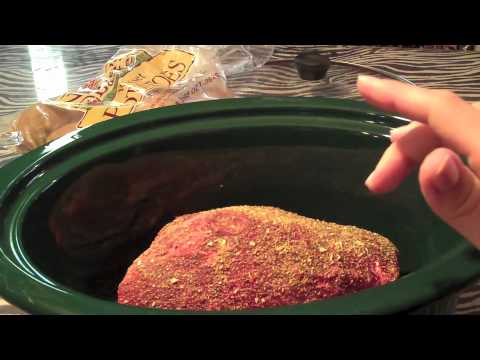 Roast And Veggies In The Crock Pot