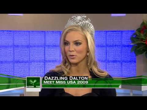 Miss USA 2009 North Carolina's Kristen Dalton  on Today Show Part 2