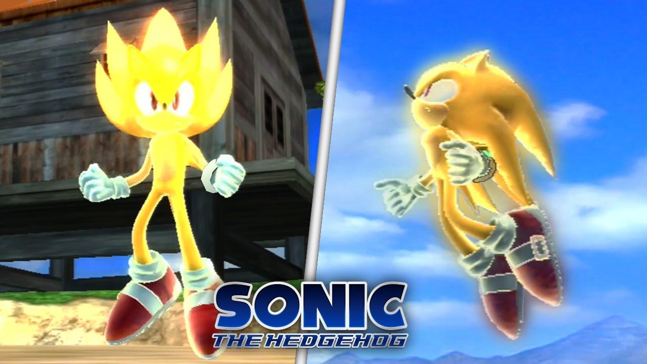 Sonic The Hedgehog (2006) Super Sonic In Wave Ocean Mod