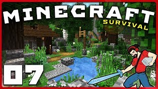 Minecraft survival | cave gardening is hard! || [s01e07] vanilla 1.12 lets play