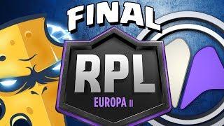 TEAM QUESO QUIERE SER CAMPEÓN DE EUROPA | Team Queso vs Millenium | FINAL DE LA RPL | Clash Royale