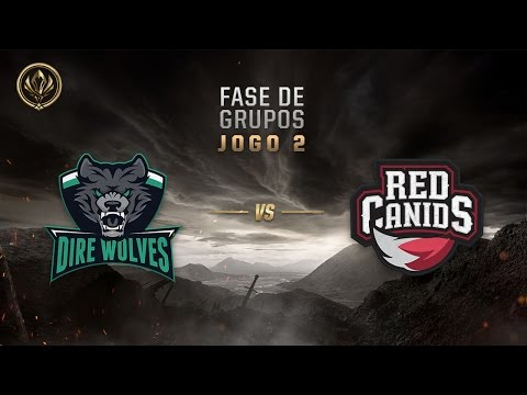 Dire Wolves x Red Canids (Fase de Entrada - Dia 3)