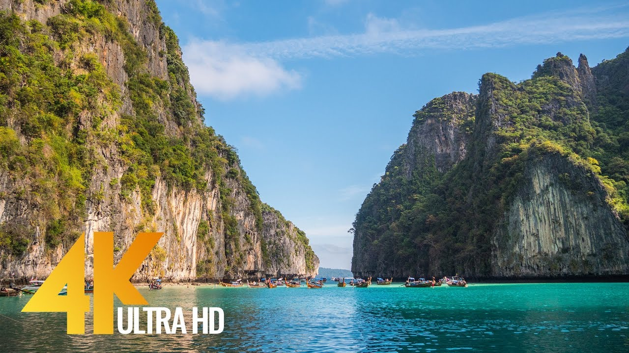 4K (Ultra HD) Around The World Film: Thailand Islands - Travel Documentary