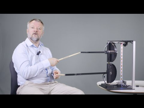 How can haptic technology create an imaginary drum kit?