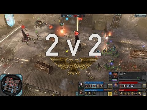Dawn of War 2: Retribution - 2v2 | Paige + Mortarion [vs] re