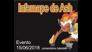 Pocket Contest / Monster Station # 104 - Ash infernape