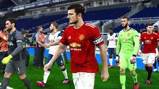 Tottenham Vs Manchester United 19 June 2020 | PES 2020