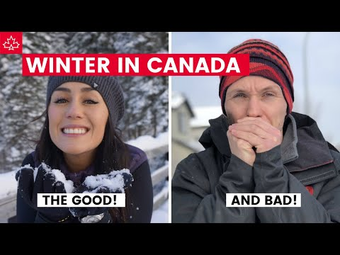 WINTER IN CANADA! The Good, The Bad, And The Cold...