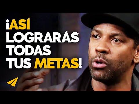 Los SUEÑOS sin METAS son solo SUEÑOS | Denzel Washington en Español: 10 Reglas para el éxito