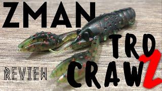 Z-Man TRD CrawZ (iCast 2018) Review & Tank Test!