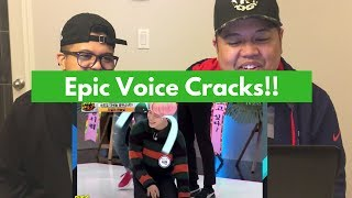 Funny K-pop Idol Voice CRACKS BROTHERS REACTION!!!