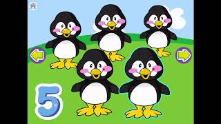 Learning Numbers - 1 2 3 4 5 Animals