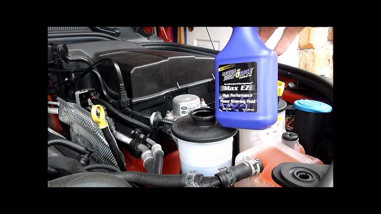 Discovery Lr3 Power Steering Fluid Change Youtube