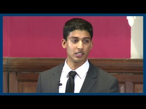 You Should Be Proud To Be Patriotic | Varun Sivaram | Oxford Union