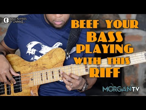 BEEF UP YOUR BASS PLAYING WITH THIS RIFF - JERMAINE MORGAN TV