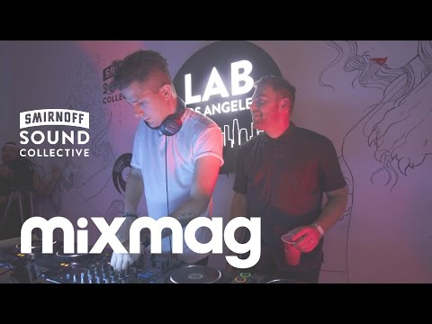 GOLDROOM b2b LE YOUTH smooth house set in The Lab LA
