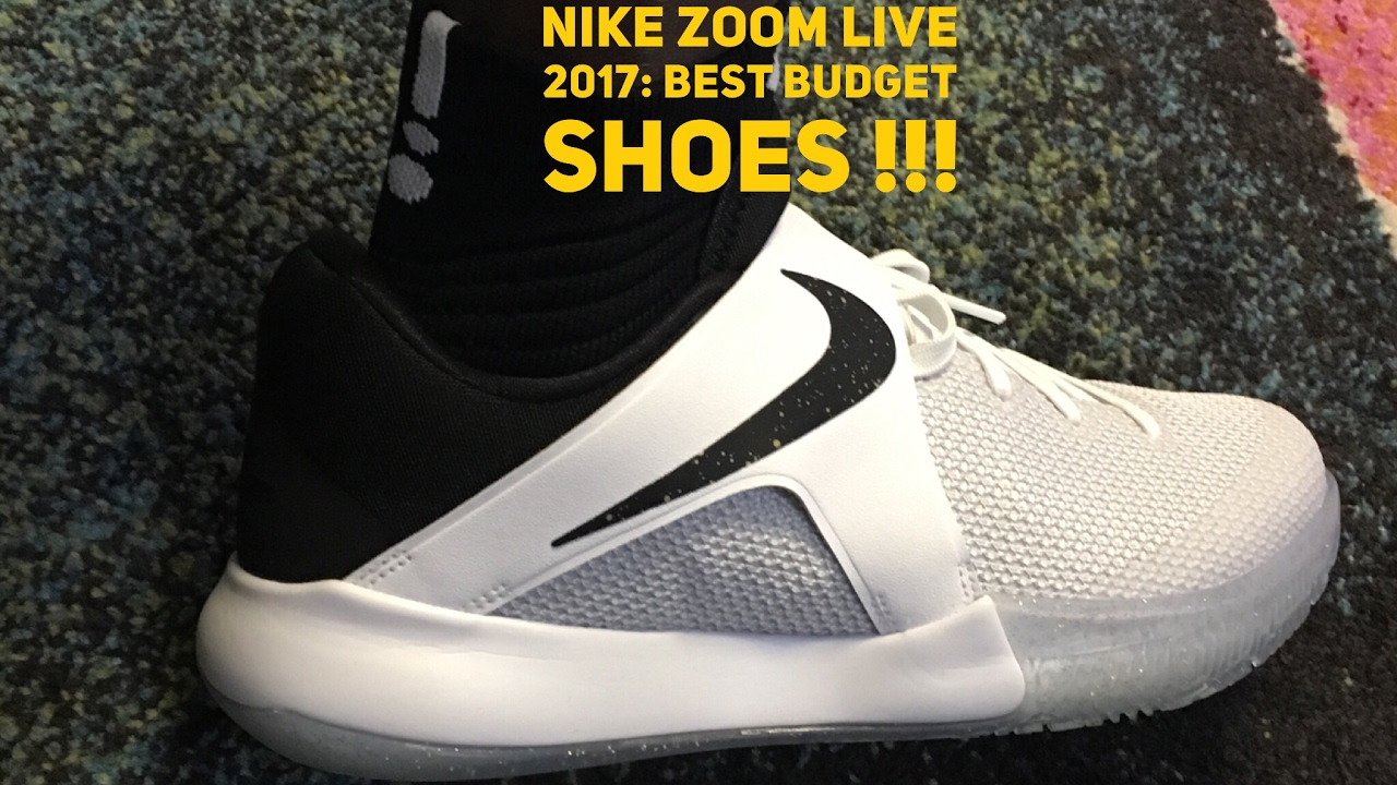0ae6e136c500 NIKE ZOOM LIVE 2017  THE BEST BUDGET SHOES !!! UNBOXING AND ON FEET REVIEW