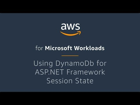 Using Amazon DynamoDb for ASP.NET Framework Session State