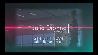 Julie Dionne animatrice et maître de cérémonie professionelle en milieu corporatif