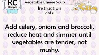 Vegetable Cheese Soup - Kitchen Cat