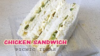 Chicken Sandwich | Picnic Ideas | Hungry for Goodies
