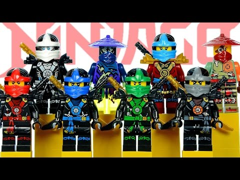 LEGO Ninjago Tournament Robes KnockOff Minifigures Set 17 w/ Lloyd ...