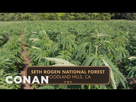 The Seth Rogen National Forest & More Questionable National Monuments  - CONAN on TBS