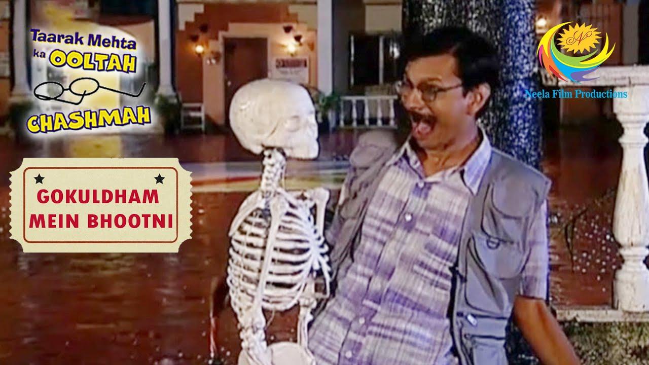 Download A Skeleton 'Attacks' Popatlal   Taarak Mehta Ka Ooltah Chashmah   Gokuldham Mein Bhootni