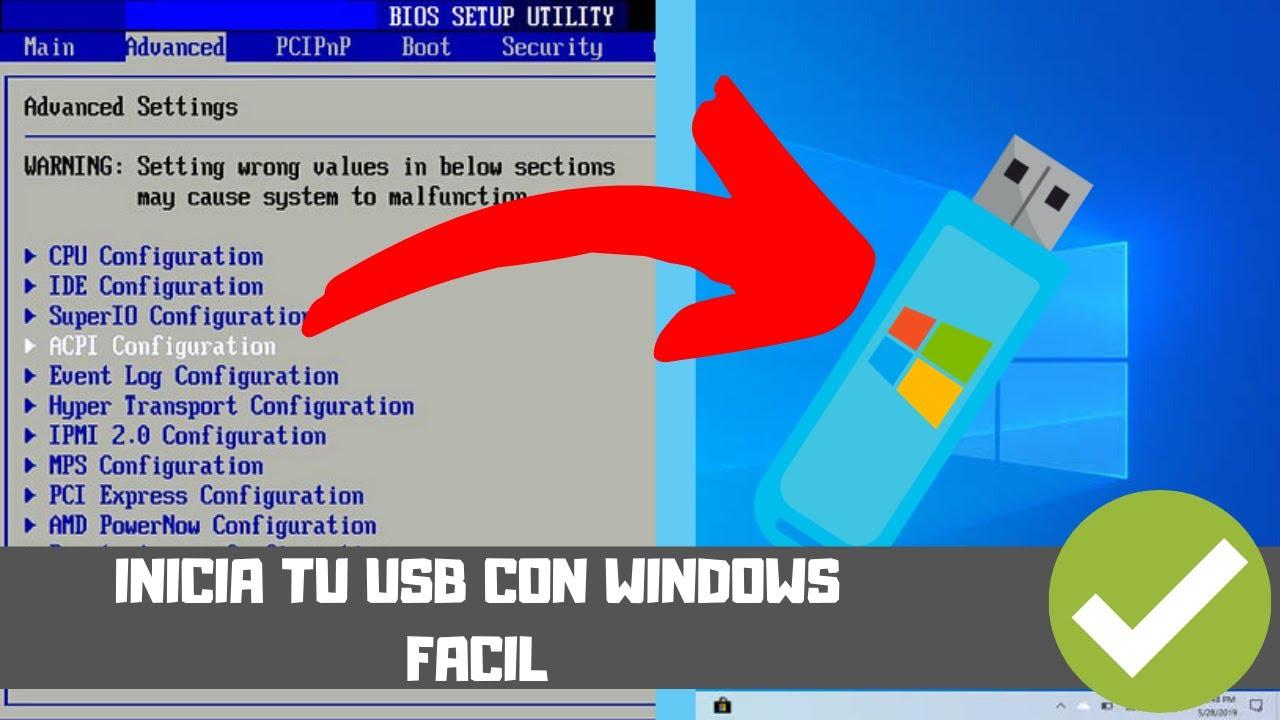 Iniciar/Bootear Windows 10 en USB para Instal…