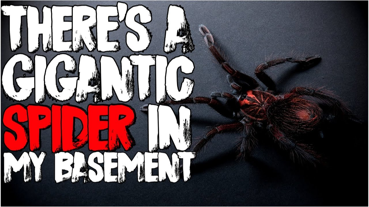 """There's a Gigantic Spider in My Basement"" 
