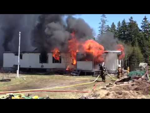 Swan's Island Fire Department Controlled Burn