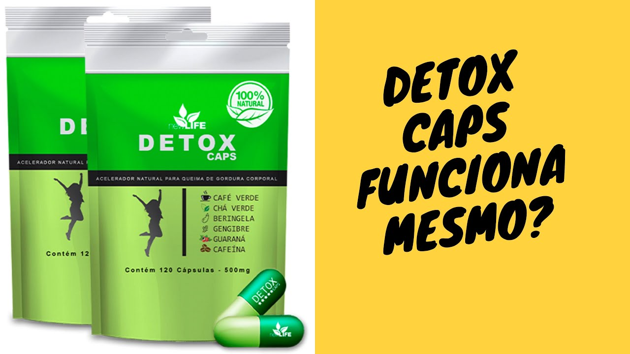 beneficios do detox caps