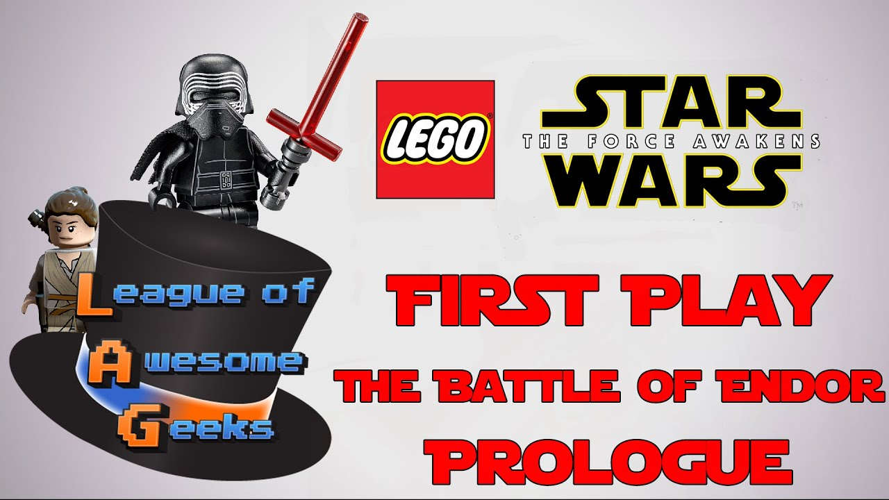 Prologue - The Battle Of Endor - LEGO Star Wars: The Force