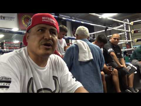 Robert Garcia Talks Michael Pena  Who Is Coming To Mikey's Fight Es Boxing