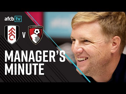FULHAM PREVIEW | The boss speaks to the media