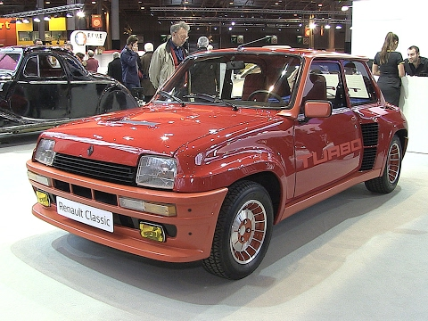 Renault 5 Turbo à Rétromobile 2017