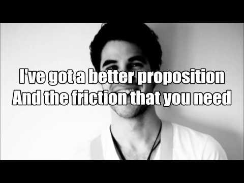 Darren Criss - Stutter (Lyrics On Screen) Listen Up Tour