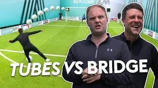 Wayne Bridge scores controversial top bin free-kick! | Tubes vs Wayne Bridge
