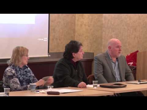 Faculty on Media Panel Discussion
