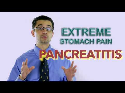 Stomach pain after drinking water too fast